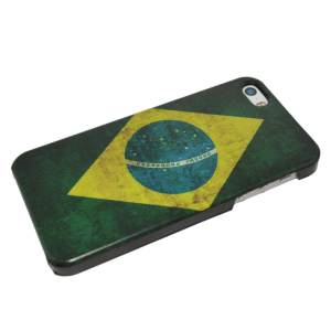 Braziliaanse vlag hardcase iPhone 5/5s