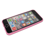 Roze/transparant TPU hoesje iPhone 6