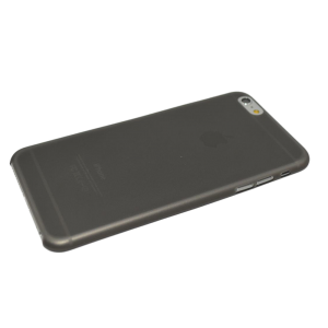 Zwart/transparant mat hardcase iPhone 6 Plus