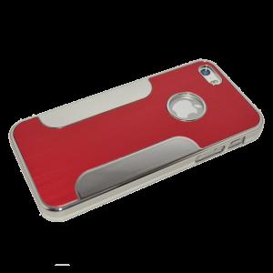 Donkerroze aluminium hardcase iPhone 5/5s