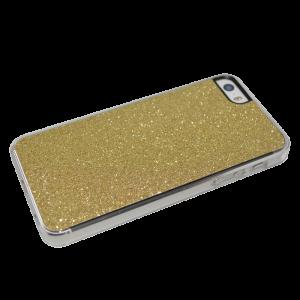 Goud glitter hardcase iPhone 5/5s