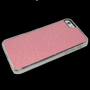 Roze glitter hardcase iPhone 5/5s