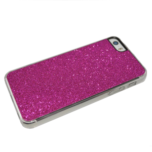 Paars glitter hardcase iPhone 5/5s