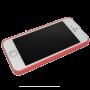 Donkerroze rozen patroon hardcase iPhone 5/5s