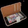 Wit kunstleer wallet case iPhone 6