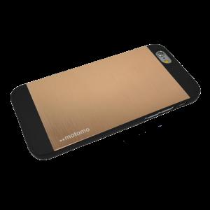 Goud Motomo aluminium hardcase iPhone 6