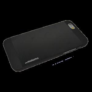 Zwart Motomo aluminium hardcase iPhone 6