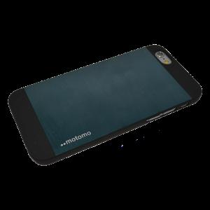 Blauw Motomo aluminium hardcase iPhone 6