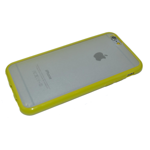 Groen/transparant TPU hoesje iPhone 6